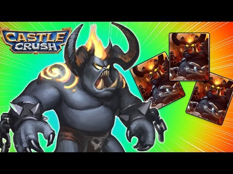 Castle Crush - Ep. 8 UNCHAINED DEMON NEW EPIC CARD UNLOCKED! Clash In Free Strategy Card Games