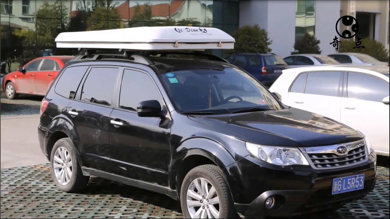 Subaru Accessories Forester Tents : Subaru roof tent nice ex le of car c ing a topped
