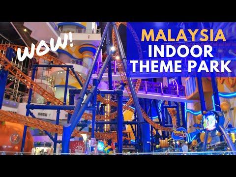 Malaysia's LARGEST Indoor Theme Park | Kuala Lumpur
