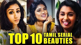 Priya Bhavani Shankar To Vani Bhojan | Top 10 Tamil Serial Beauties!