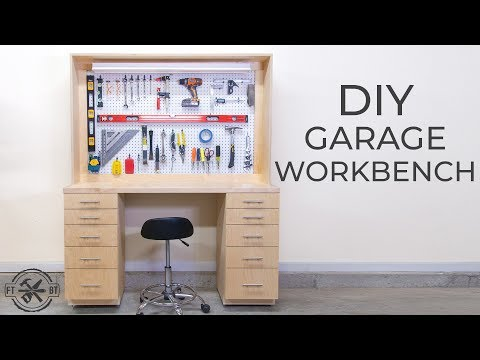 DIY Garage Shop Workbench | How to Build