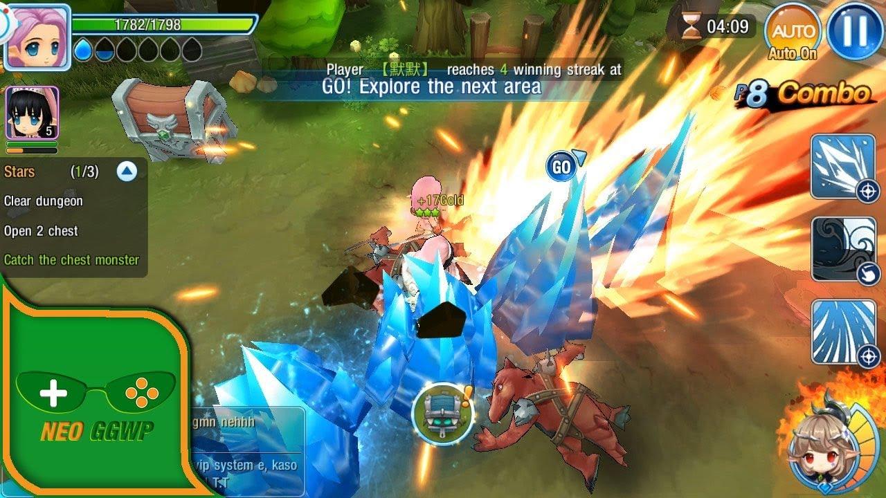 Мобильный онлайн рпг онлайн рпг игра для слабого пк