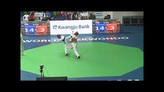 (NEPAL vs ZAMBIA) 2017 World Taekwondo Championship, Muju (M-58KG)
