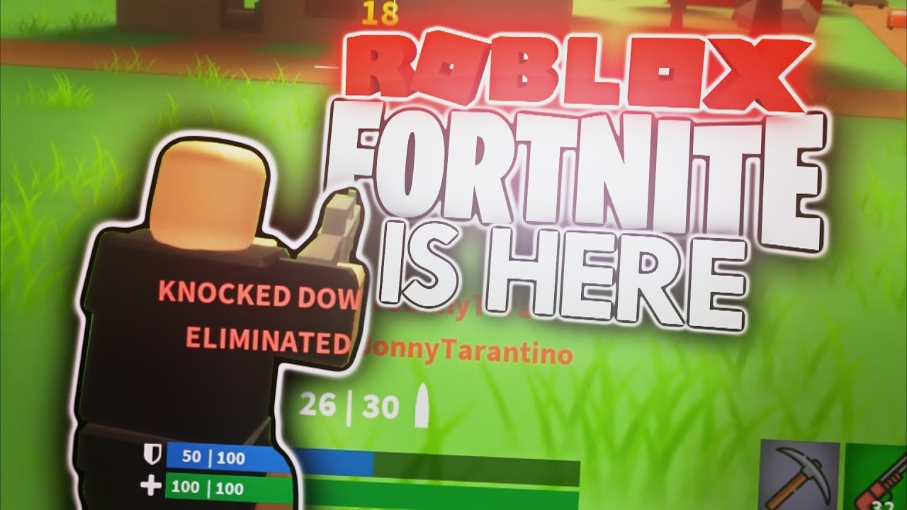 FORTNITE IN ROBLOX IS OFFICIALLY HERE! (Island Royale ...