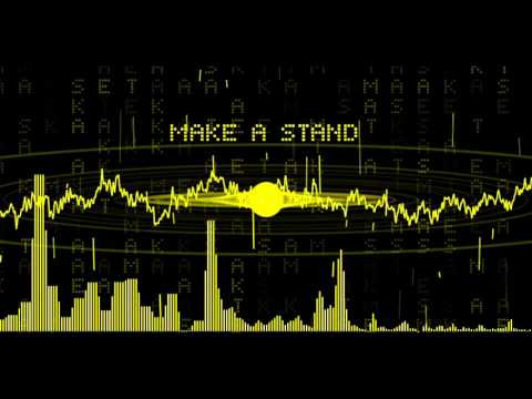 Speo - Make A Stand (Music visualizer) - Created with generative code in Processing