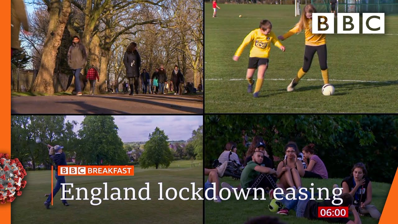 Covid: Outdoor meetings and sports to resume in England @BBC News live ? BBC