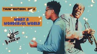 Download Lagu Thunderstorm Artis What A wonderful world - MP3