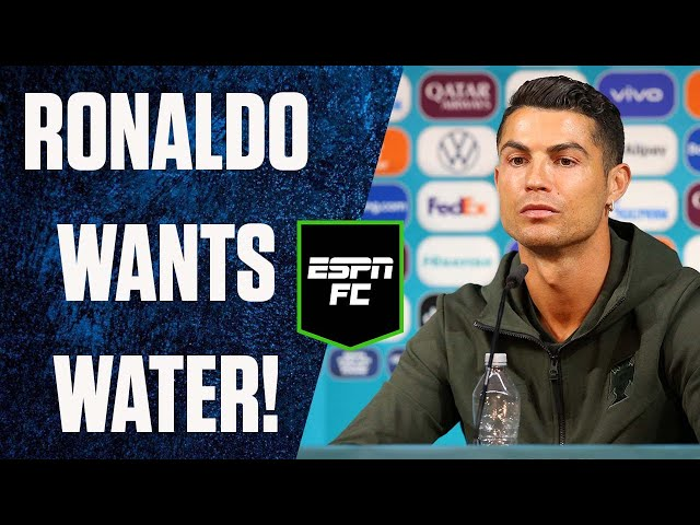 Cristiano Ronaldo wants nothing to do with these soft drinks | #Shorts | ESPN FC