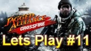 Jagged Alliance Crossfire Lets Play #11 - Hydro Electric Power Station