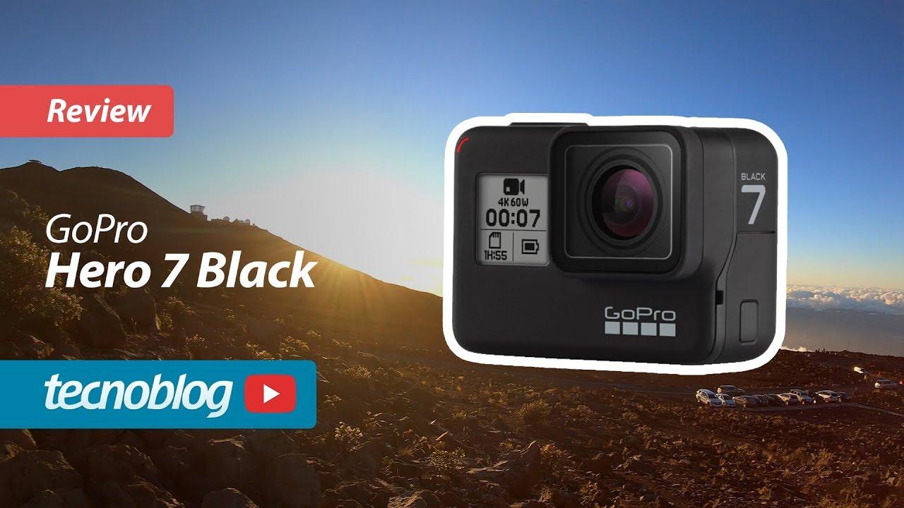 Review GoPro Hero 7 Black: muita estabilização sem gimbal