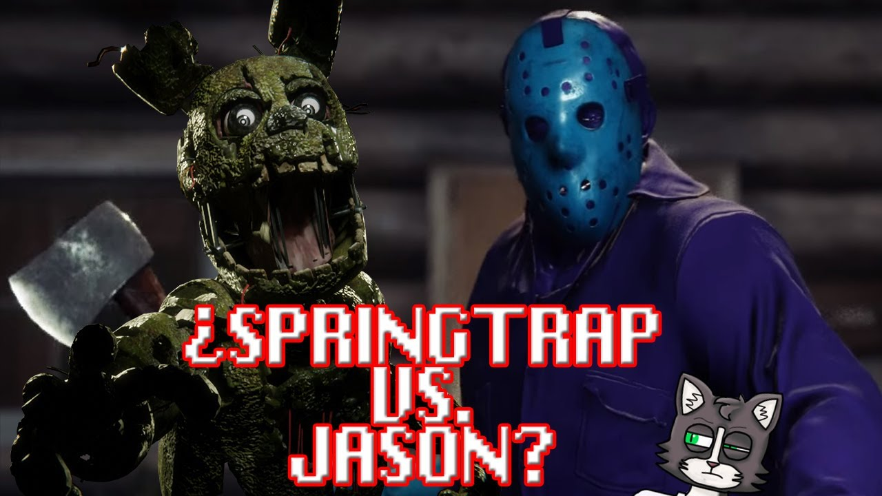 ¿Springtrap puede derrotar a Jason? Respondiendo preguntas en directo