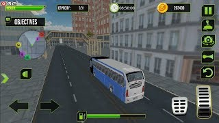 """City Coach Bus Driving Simulator """"Route 2"""" Android Gameplay FHD #2"""