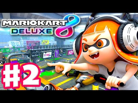 Make Mario Kart 8 Deluxe - Gameplay Walkthrough Part 2 - Flower Cup 50cc 100cc! (Nintendo Switch) Images
