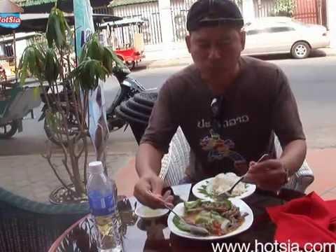 Thai food in phnom Penh(ข้าวผัดกระเพรา)