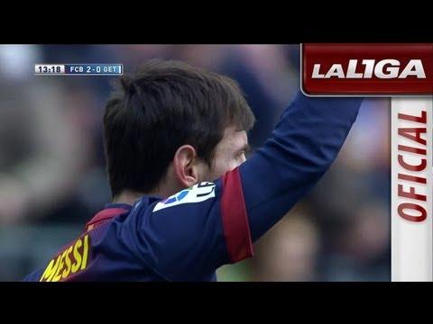 Gol de Lionel Messi (2-0) en el FC Barcelona - Getafe CF - HD