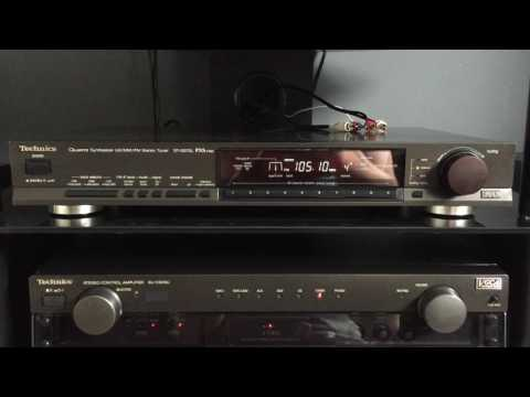 Technics ST-G570L PXS Cap Class AA Radio Tuner Demo