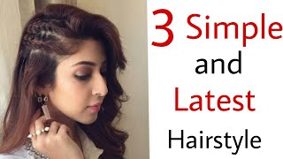 3 Simple & Twisted new hair'style for Girls || Easy hairstyle || new hairstyle 2020 |hairstyle girls