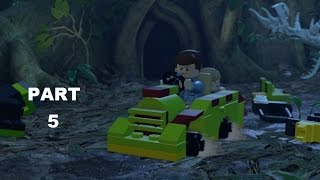 LEGO Jurassic World Walkthrough Part 5 - Rescuing Timmy