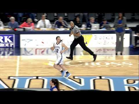 Maine Women's Basketball vs UMass Lowell Highlights