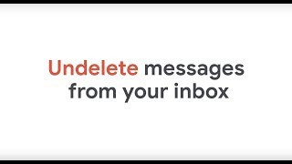 How To: Recover deleted messages in Gmail