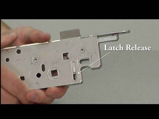 How To Reverse the Handing on a Hoppe Single Point Door Lock