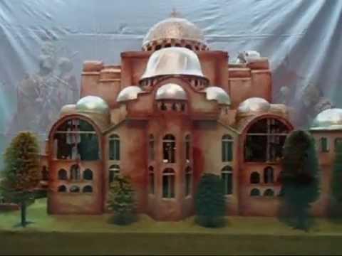 Hagia Sophia - Our model / Αγία Σοφία - Η μακέτα μας