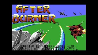 Commodore 64 Longplay [153] After Burner (US)