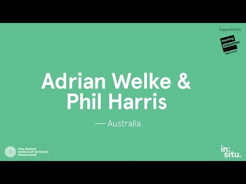 in:situ 2015 - Adrian Welke & Phil Harris, Troppo Architects