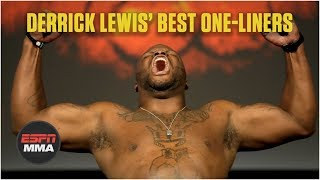 Derrick Lewis' best one-liners in the UFC | MMA Sound