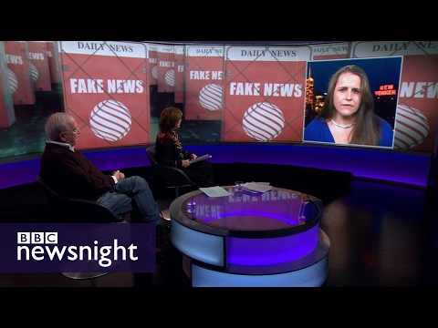Fake news: How can we know what's true? - BBC Newsnight