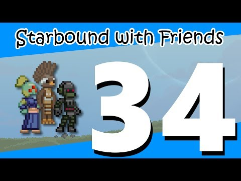 "Starbound with Friends (EP34) The ""Safety"" of an Asteroid Cluster"