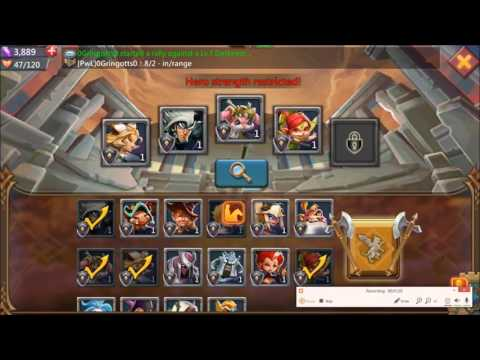 Lords Mobile Heroes' Assault (Free To Play Heroes Only) Stage 1-6