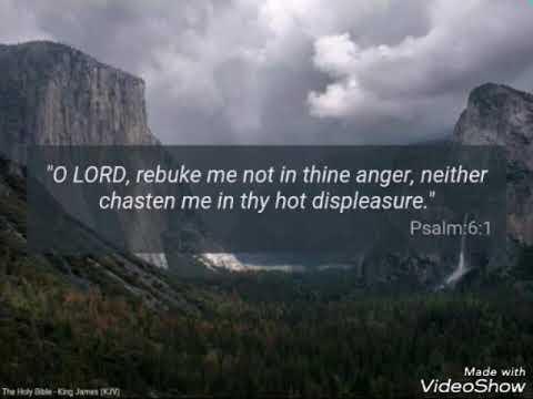 Psalms 6 & 7 kjv Ulysses Josh Garrels
