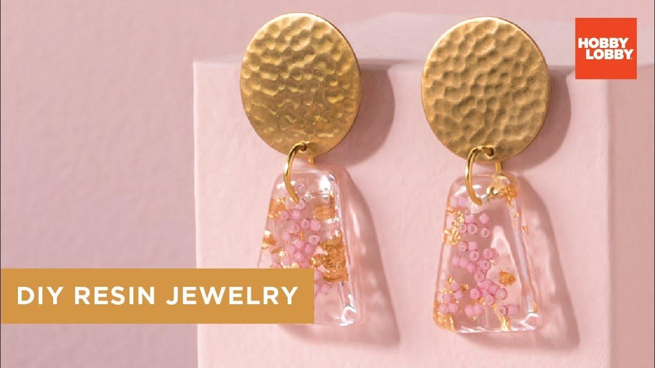DIY Resin Jewelry - How to Make | Hobby Lobby®