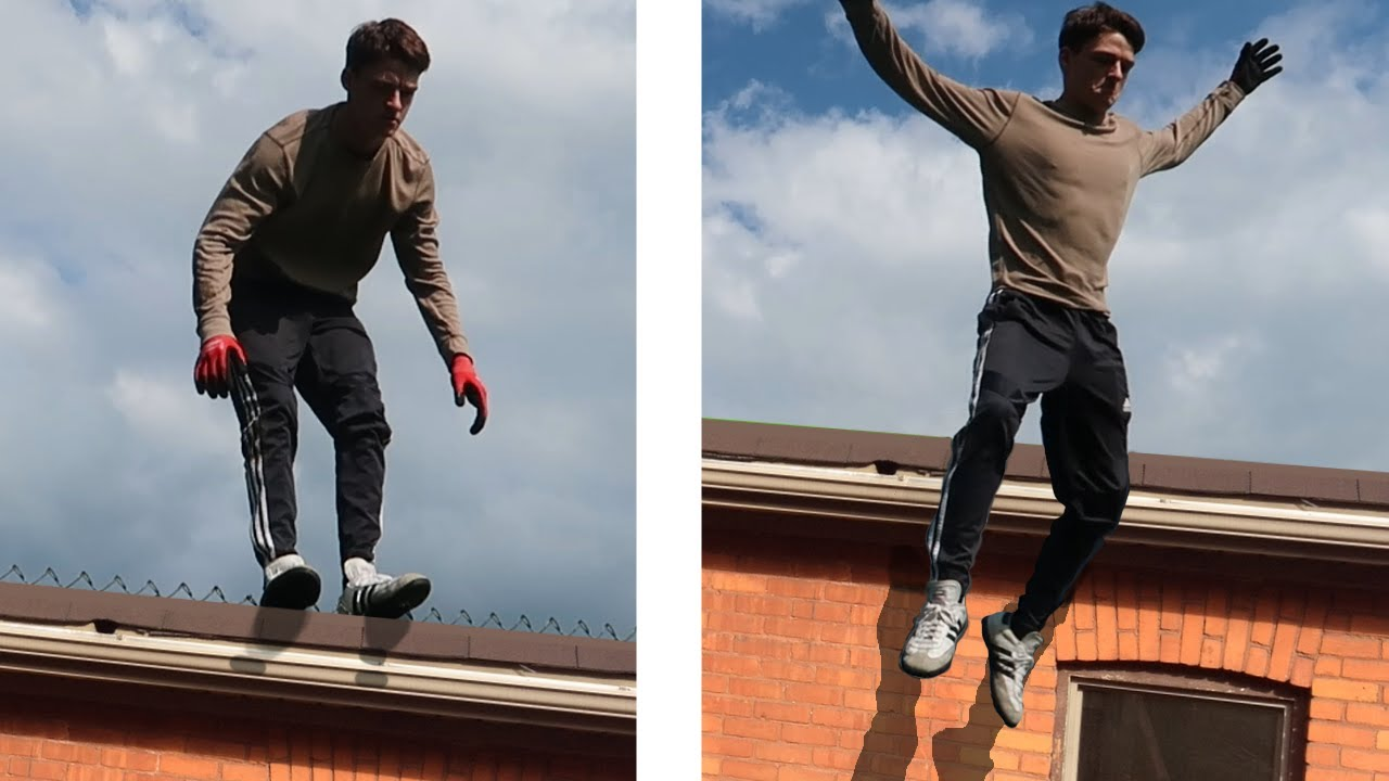 HE HAD TO JUMP! (Parkour GONE WRONG)
