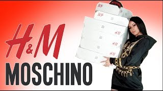 H&M MOSCHINO HAUL & TRY ON