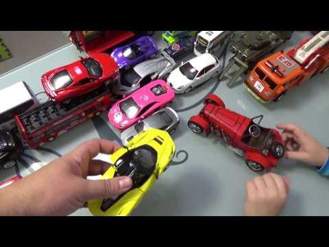 Машинки. Игрушки для мальчиков. Часть 2
