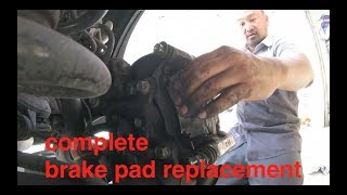 now that noise is annoying [change rear brake pads] Lexus rx350 √ Fix It Angel
