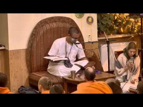 Шримад Бхагаватам 4.13.35 - Чайтанья Чандра прабху