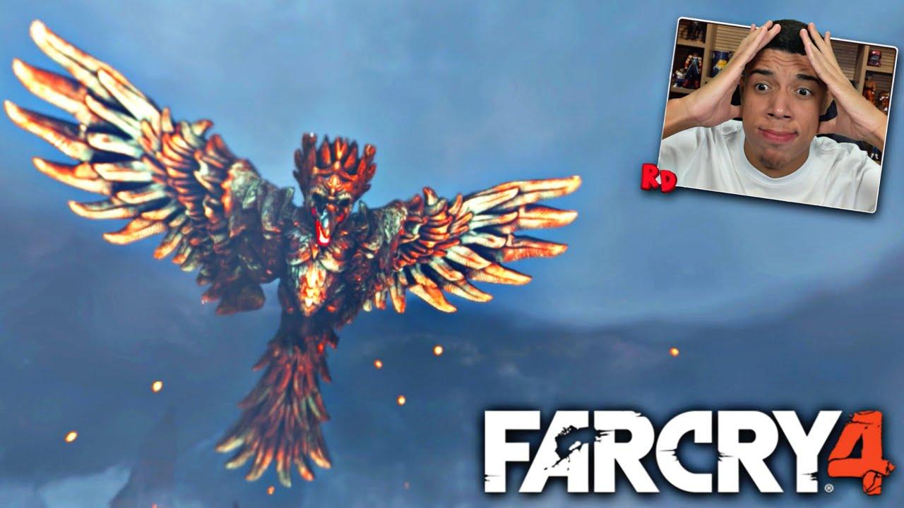FAR CRY 4 : A BATALHA FINAL INSANA CONTRA O RAKSHASA, A AGUIA DE OURO E FOGO GIGANTE!!!