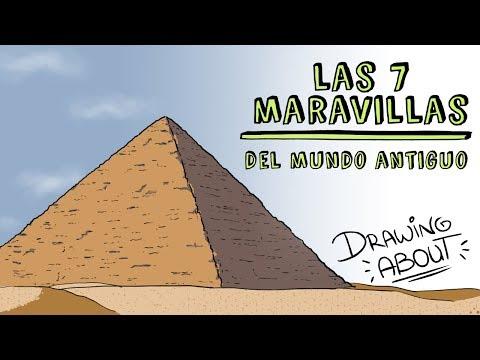 LAS SIETE MARAVILLAS DEL MUNDO ANTIGUO  | Draw My Life