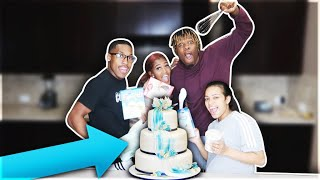 MAKING A CAKE FT. NIQUE & KING **HILARIOUS**