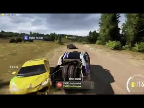 Running Into Major Nelson - Forza: Horizon 2 - Xbox One
