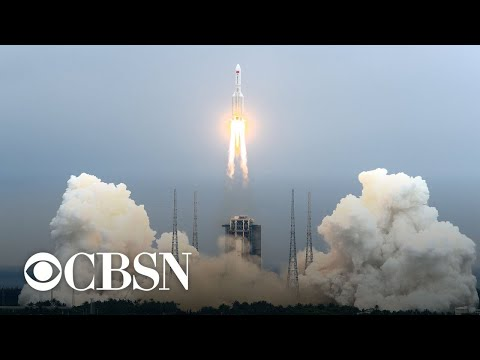 Rocket debris from China's space station launch is hurtling to Earth