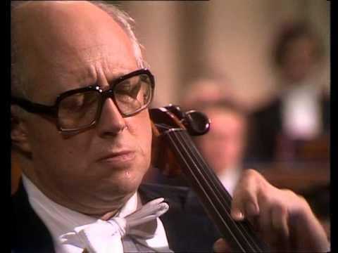 Dvorák - Concerto in B minor Op. 104 / Mstislav Rostropovich