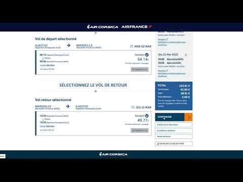 Comment acheter son billet au tarif Resident Corse ?