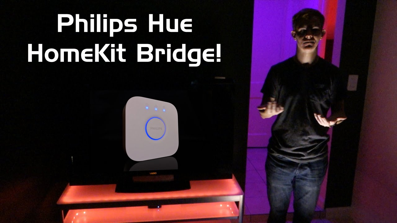 Philips Hue Bridge 2.0 (HomeKit) - Unboxing, Setup, Siri ...