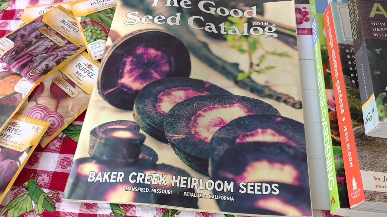 my baker creek seed catalog arrived