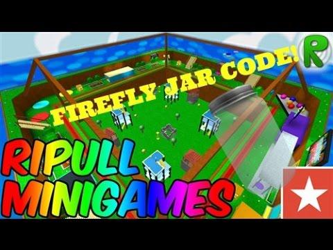 Ripull Minigames FireFly Jar CODE! ~Roblox
