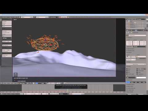 Blender 2.71 Tutorial - Create an Animated Flock of Birds